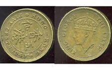 HONG KONG 5 cents five 1949
