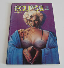 ECLIPSE N° 1    COMICS AREDIT 1987  FRANCE