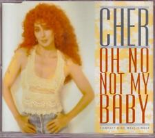 CHER Oh No Not My Baby GERMANY 4 TRACK CD EP