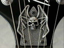 SKULL TRUSS ROD COVER fits bc rich MOCKINGBIRD guitar HAND MADE METAL PLATE