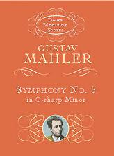 Gustav Mahler Symphony No.5 In C Sharp Minor 1902 Sheet Music Book