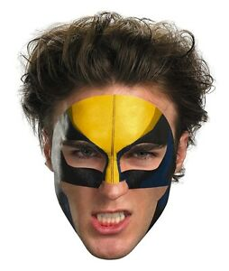 Wolverine Face Tattoo Makeup X-Men Superhero Halloween Party Costume Accessory