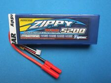 ZIPPY 5200mAh 2S 7.4V 30C HARDCASE LIPO BATTERY HXT 4MM ROAR TRAXXAS TRUGGY BOAT