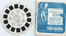 SAM-2 Adventures of Sam Sawyer Sam Finds a Treasure 1950 View-master Reel & Book