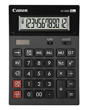 CANON AS-2200 12-DIGIT LARGE DESKTOP CALCULATOR  4584B001