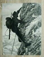 AB) Blatt 2.WK Gebirgsjäger Edelweiss 1941 Gebirgs-Division Rucksack Gewehr Fels