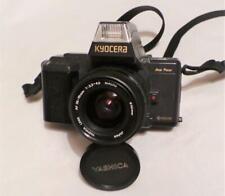 """KYOCERA """" YASHICA """" 230-AF 35mm FILM CAMERA WITH YASHICA AF 35-70mm MACRO LENS."""