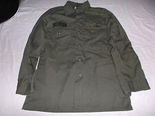 US Army Man's Utility Poly / Cotton Durable Press Shirt SIZE 14 1/2 x 31 8780