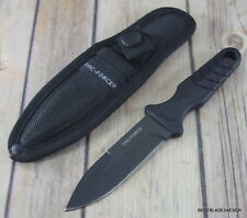 7 INCH TAC-FORCE FIXED BLADE BOOT KNIFE WITH BELT CLIP NYLON SHEATH