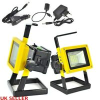Rechargeable Flood Light, LED 100w 2400LM  Portable Spotlights Outdoor Work Ligh