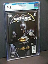 Batman The Return #1 On-shot Finch Morrison Cgc 9.8 white pages 2011