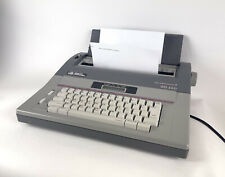 Vintage Smith Corona Sd 660 Memory Typewriter With Spell Right Dictionary Amp Manual