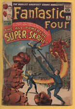 Fantastic Four #18 Marvel Comics 1963 1st Appearance Super Skrull Lee/Kirby GD