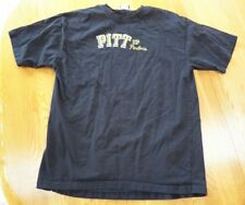 Men's PITT Pittsburgh Panthers Football College T-Shirt size L Large