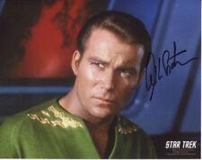 William Shatner In Person Signed Photo - Captain Kirk - Star Trek - D697