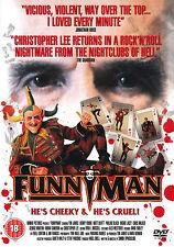 The Funny Man , Funnyman , DVD Region2 , 100% uncut , Christpher Lee
