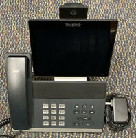 Yealink SIP VP-T49G Ultra-Elegant Gigabit IP Video Phone W/ Stand & Power Supply