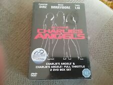 the ultimate charlies angels dvd charlies angels and full throttle new sealed