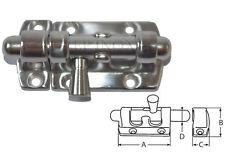 Fermeture Targette inox 316 Longueur 45mm inox A4 - 316