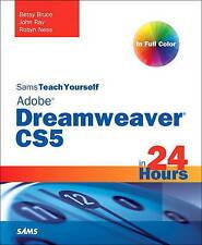 Sams Teach Yourself Dreamweaver CS5 in 24 Hours-ExLibrary