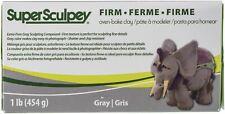 Super Sculpey Firm Clay 1lb-Gray