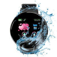OLED Bluetooth Smartwatch D18-2 Pulsuhr IP68 wasserdicht iOS Android Huawei LG