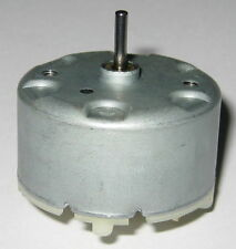 Mabuchi RF-500 DC 6V Motor - 1.5 to 12 VDC - Watch Winder Low Current Motor