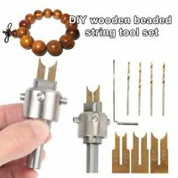 Wooden Bead Maker Beads Drill Bit Milling Cutter Set Tool Kit for Woodworking RK