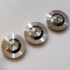 3 x 39-12mm Stainless Steel Audio Speaker AMP Isolation Spike Cone Pad Feet
