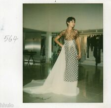 POL255 Polaroid Photo Vintage Original mode fashion mannequin model femme woman
