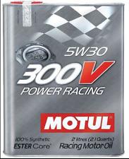 MOTUL 300V POWER RACING 5W30 OLIO MOTORI GARA COMPETIZIONE SINTETICO 5W-30 2L DI