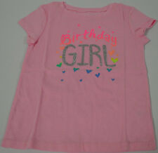 Jumping Beans Girls Birthday Girl T Shirt Pink Size 2T New
