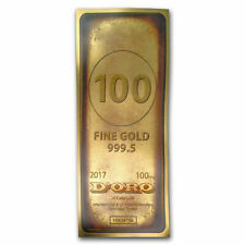 1/10g Gram (NOT oz) FINE GOLD 24k 999 DORO BULLION BAR AURUM FOIL (NUMBERED)