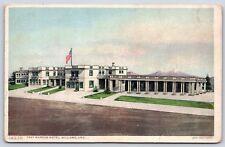 The Fray Marcos Hotel in Williams, Arizona Coconino County Postcard Unused