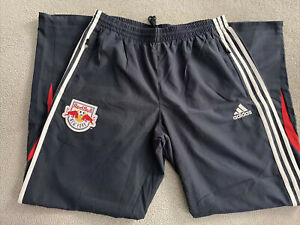 NEW YORK RED BULLS ADIDAS MLS WOVEN PANTS MENS L/XL