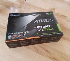 Gigabyte AORUS GeForce GTX 1080 Ti XTREME Ed. 11GB GDDR5X VR Ready Graphics Card
