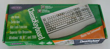 BELKIN CLASSIC KEYBOARD F8E206 Wired PS/2- PC AT DIN 5 PINS (White)