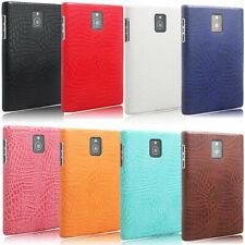 For Blackberry Passport Q30 Alligator Grain PU leather Coated hard case cover
