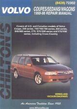 Chilton Volvo Coupes/Sedans/Wagons 1990-98 Repair Manual 72302 NEW Fast Shipping