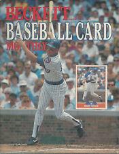 Beckett Baseball Card Monthly Mark Grace March 1989