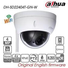 Dahua 4MP 4X PTZ Dome IP camera H.265 WIFI P2P IVS IP66 Network SD22404T-GN-W HD