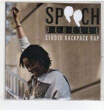 (ET420) Speech Debelle, Studio Backpack Rap - DJ CD