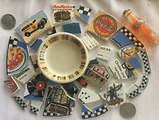 Broken China Plate Mosaic Tiles~Road Trip~Old Route 66~Diner~New Mexico~#3 of 8
