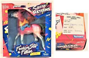 FASHION STAR FILLIES JANEL SASSY SIXTEENS 1989 Signed SAS SAMPLE Kenner Designer