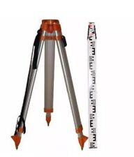 Survey Tripod And Staff Set Laser Level Total Station Surveying