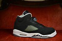 Nike Air Jordan Retro V 5 Oreo Black White Metallic Grape 440888-035 Size 6.5 Y
