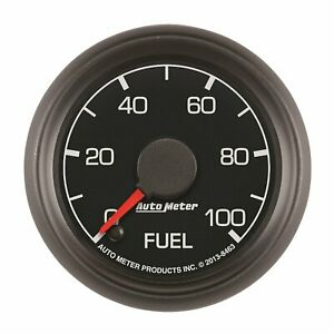 "AUTO METER 8463 Ford Factory Match 2-1/16"" Electric Fuel Pressure Gauge..."
