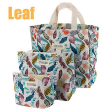 Cute Women Ladies Girls Kids Portable Insulated Lunch Bag Box Picnic Tote  F
