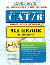 How to Prepare For the CAT/6 4th Grade - Paperback By Jackson, Lynn - VERY GOOD