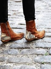 buy popular 4ab89 9298d NEW Free People The Last Outlaw Suede Ankle Boots